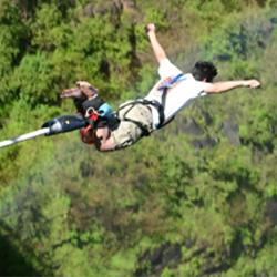 bunjee jumping in rishikesh