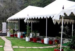 luxury tent camping rishikesh