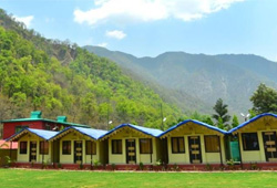 riverside cottages camping rishikesh
